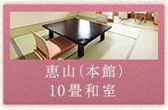 恵山(本館)10畳和室